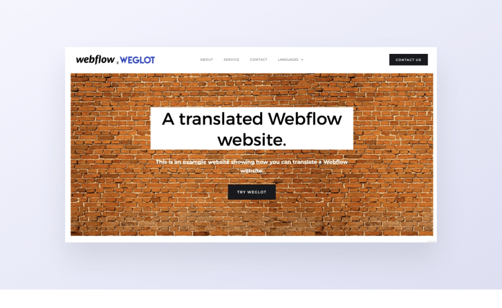 weglot webflow setup demo