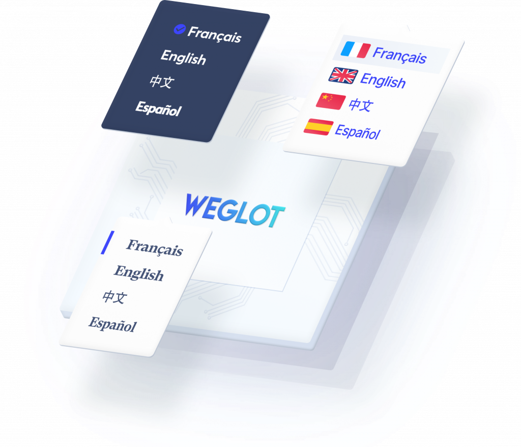 site web multilingue - weglot
