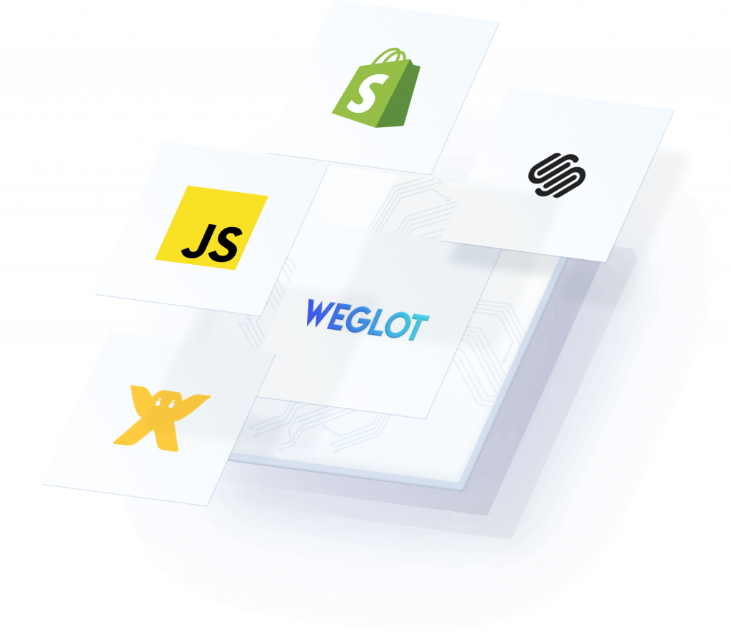Weglot Works will all CMS