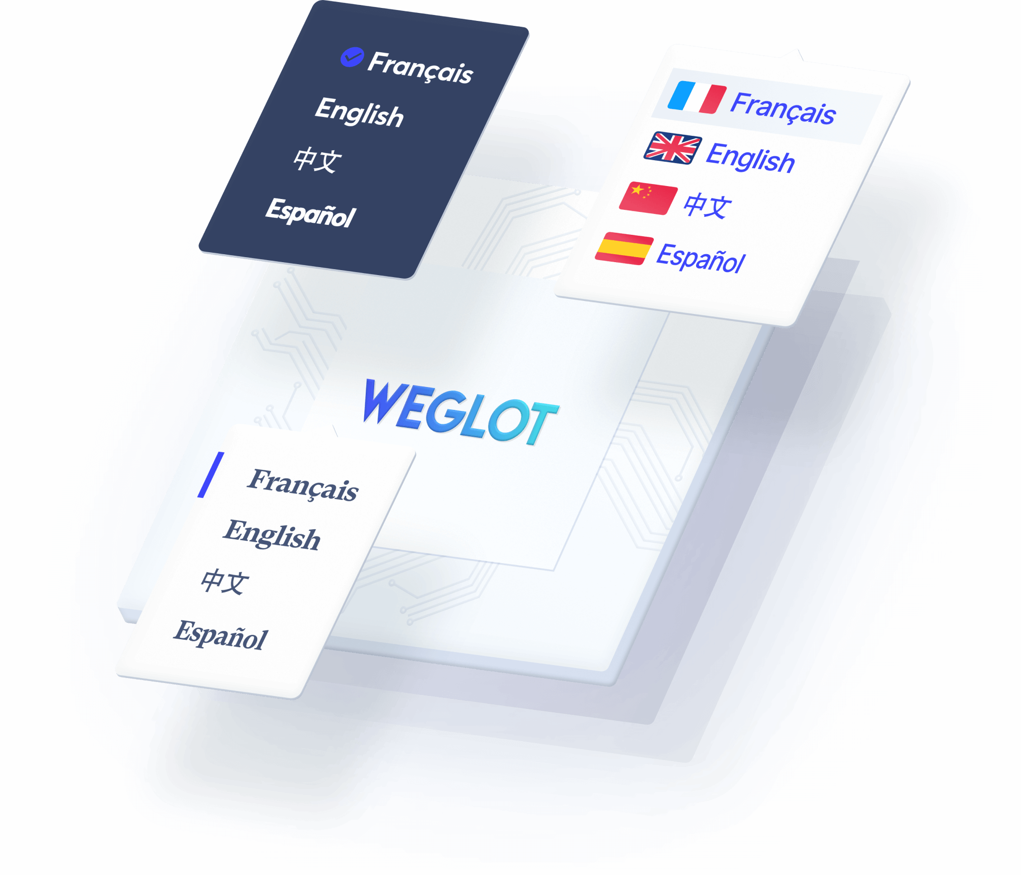 language switcher to switch between different languages