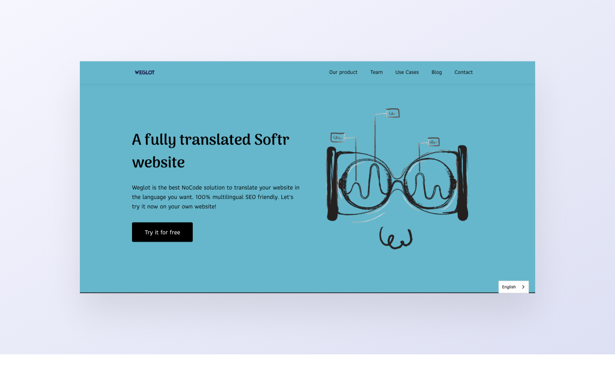 Softr website