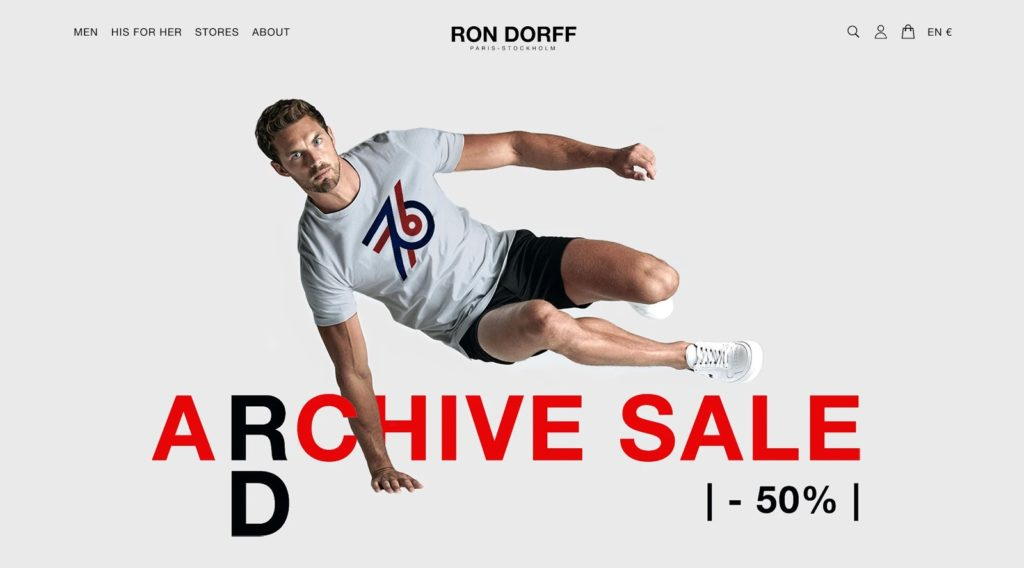 Ron dorrf homepage